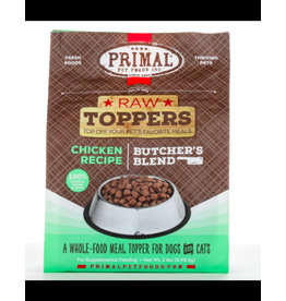 Primal Frozen Raw Butcher's Blend Topper Chicken 2LB
