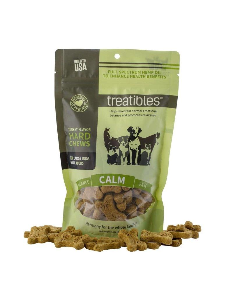 Treatibles Treatibles Dog Chews Turkey Calm 14 Ct