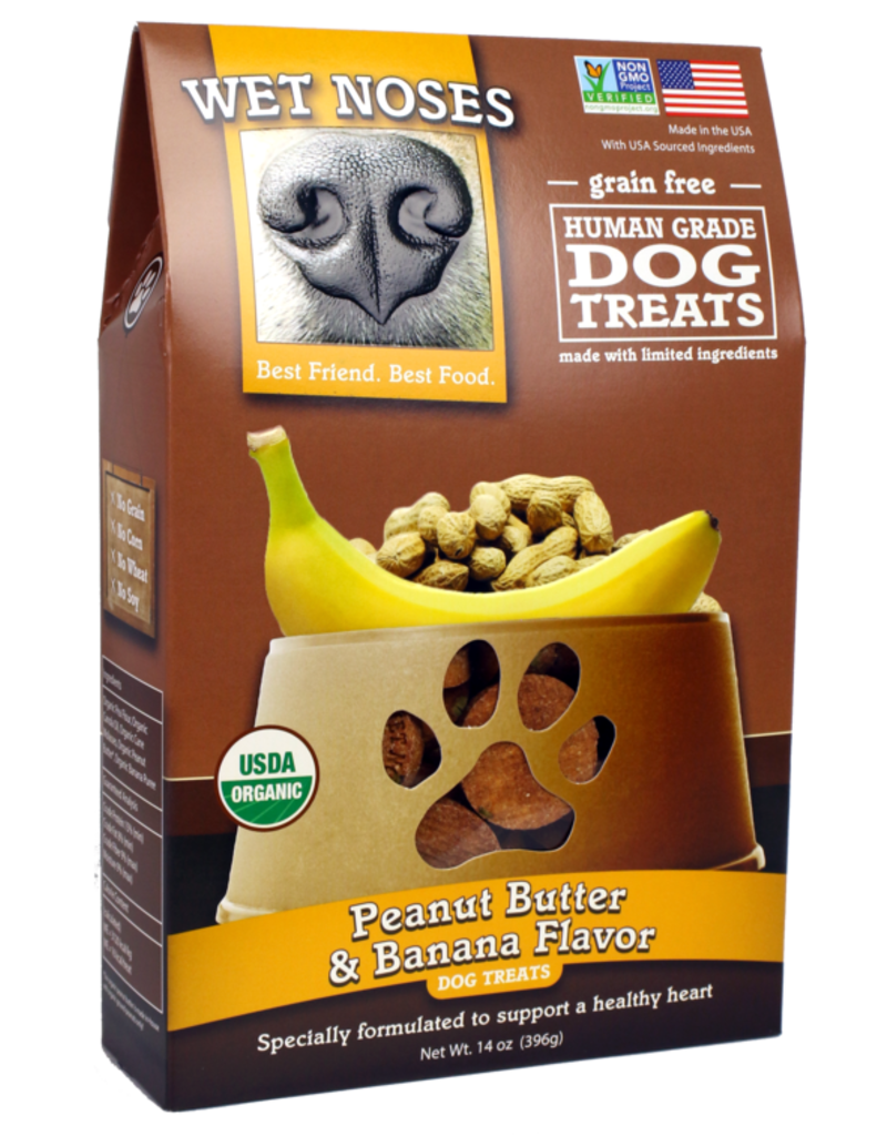 Wet Noses Dog Treats Peanut Butter & Banana14 oz