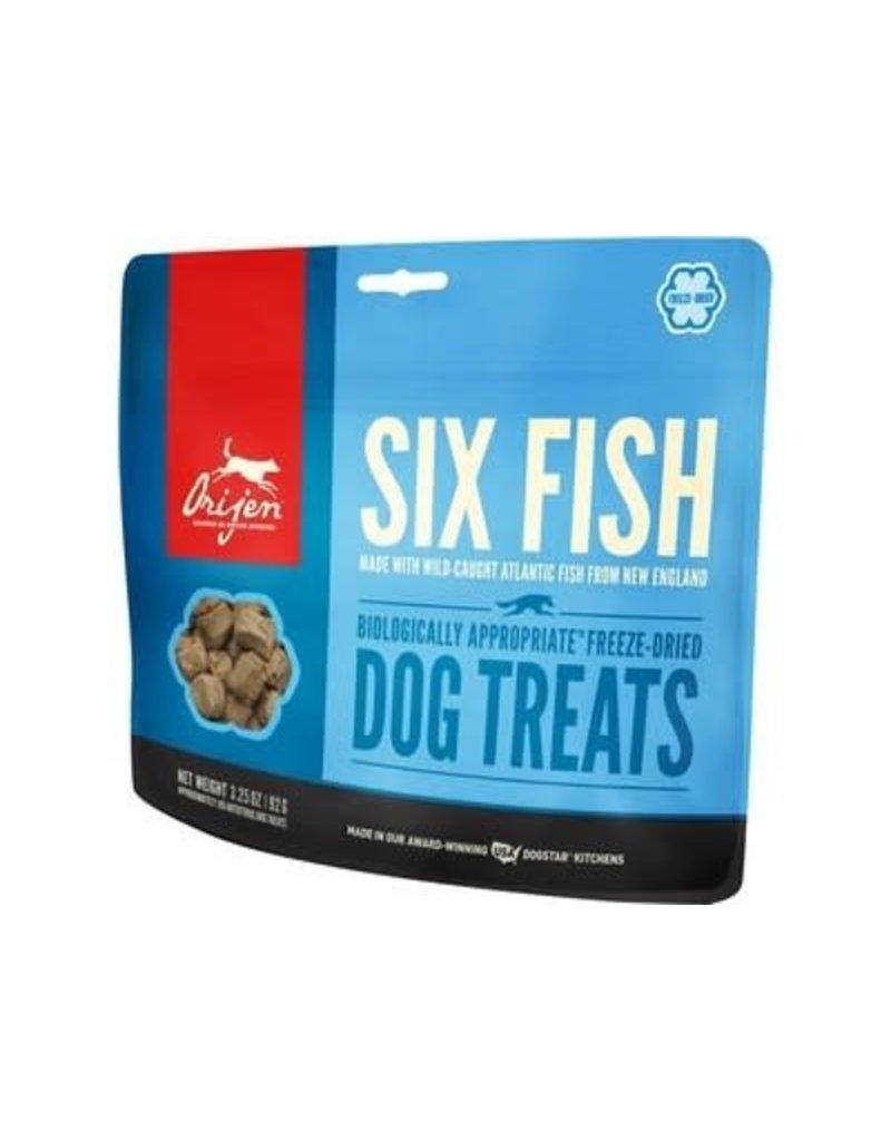 Orijen Dog Treats Six Fish 1.5 Oz