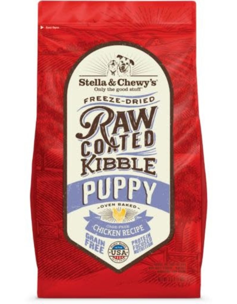 Stella & Chewy's Dry Dog Raw Coated Kibble Puppy Chicken Recipe 10 lb