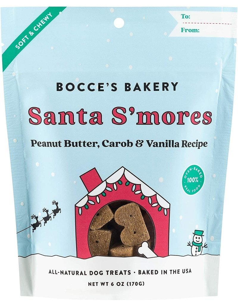 Bocce's Bakery Bocce's Bakery Soft & Chewy:  Santa S'mores 6oz