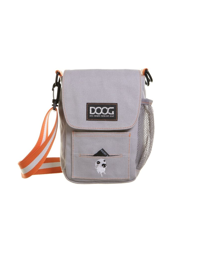 DOOG DOOG Walkie Bag Dog Walking Bag Grey