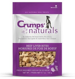 Crumps' Naturals Crumps Freeze Dried Beef Liver 4.7 oz