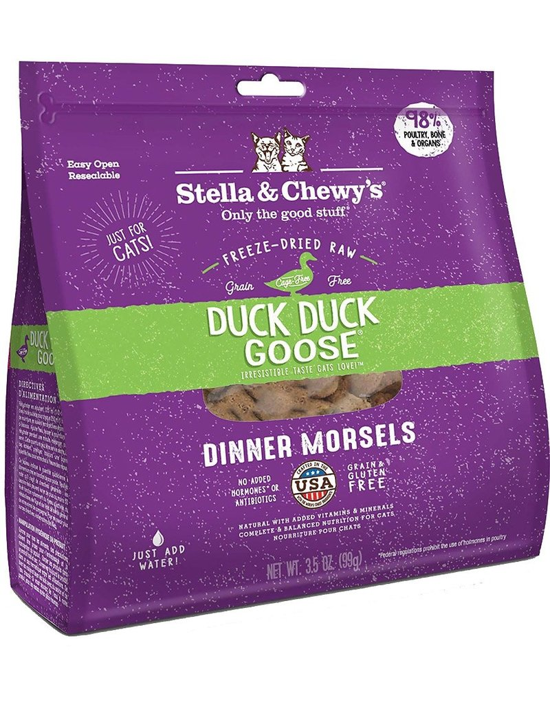 Stella & Chewy's Cat Freeze Dried Duck Duck Goose 8 OZ