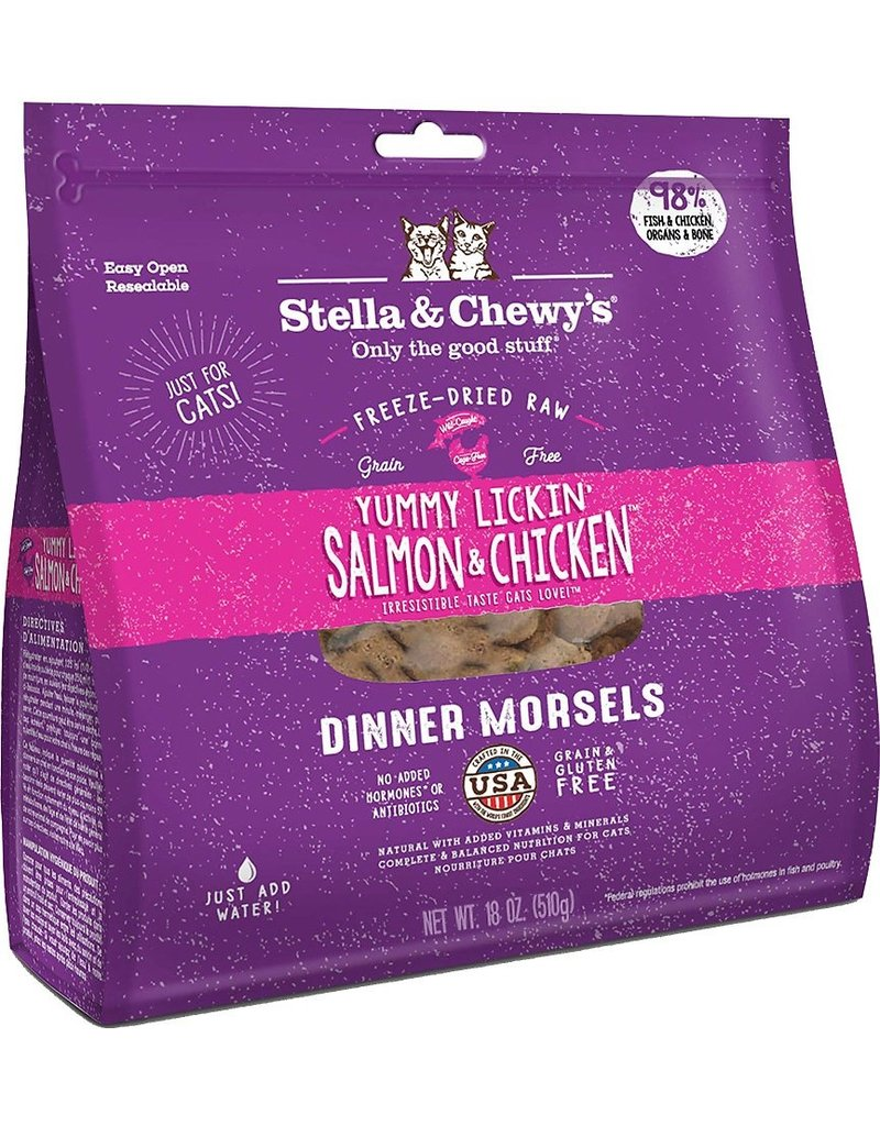 Stella & Chewy's Cat Freeze Dried Salmon & Chicken 8 OZ