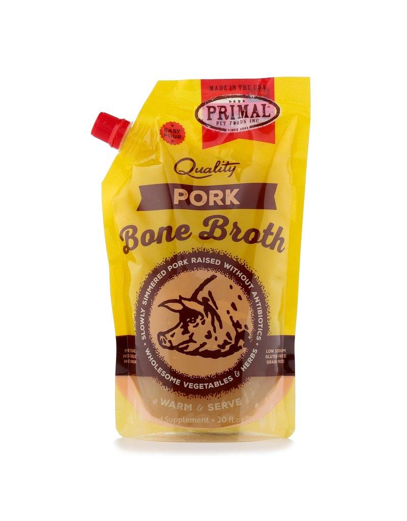 Primal Dog Frozen Pork Bone Broth 20 Oz