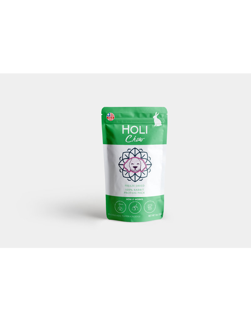 HOLI CHOW Holi Chow Rabbit Protein Pack 2oz