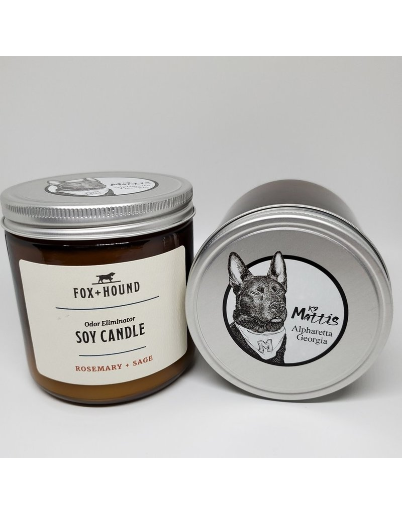 Fox + Hound Fox + Hound Odor Eliminator Soy Candle