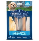 Barkworthies Dog Chews Puppy Variety Pack