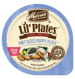 Merrick Lil'Plates Grain Free Pint Size Puppy Plate 3.5 Oz