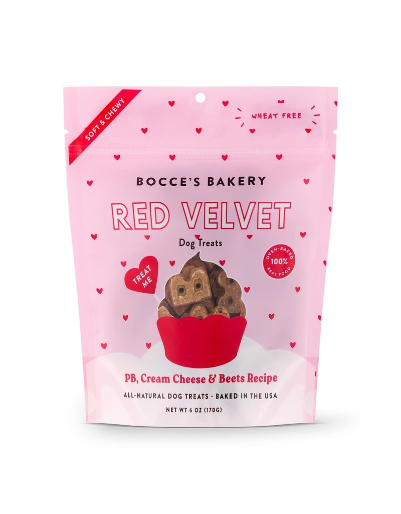 Bocce's Bakery Bocce Bakery Red Velvet Dog Biscuits 6oz