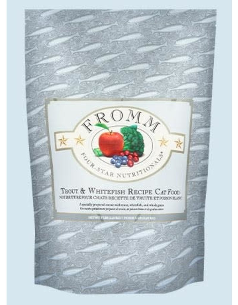 Fromm Family Pet Food Fromm Four Star Cat Dry  Trout & Whitefish 5lb