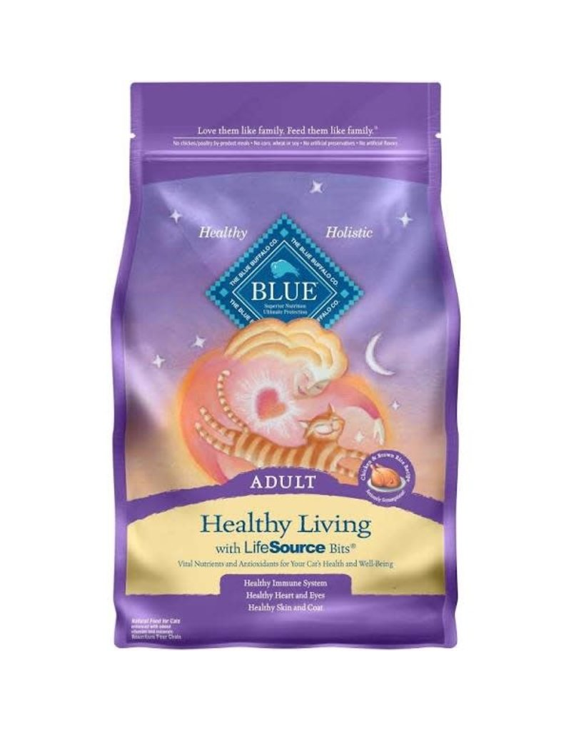 Blue Buffalo Dry Cat Healthy Living Chicken & Brown Rice 3 LB