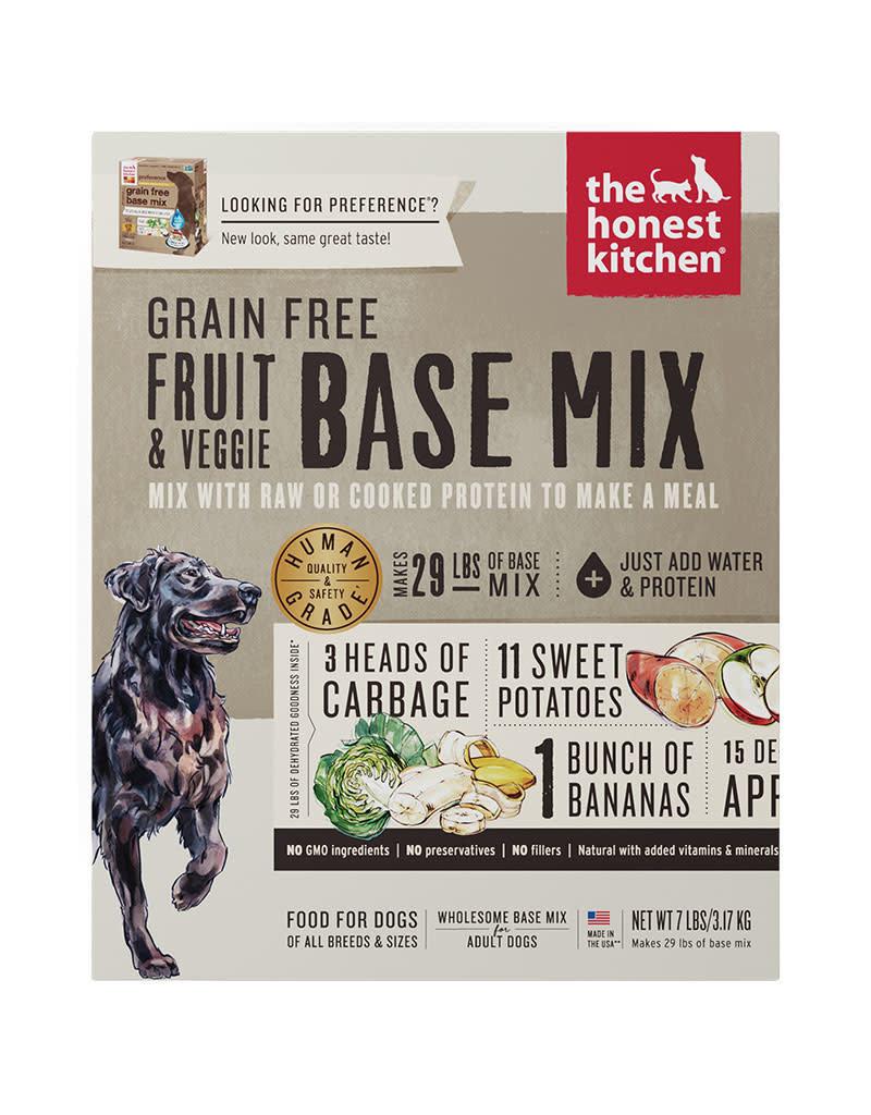 The Honest Kitchen Honest Kitchen Dry Dog Grain Free Fruit and Vegetable Base Mix 7 Lb