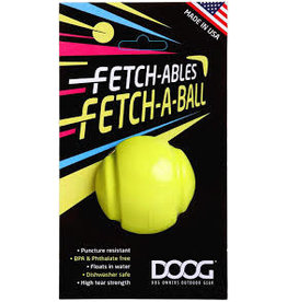 DOOG The Fetchables - Fetch A Ball  Yellow