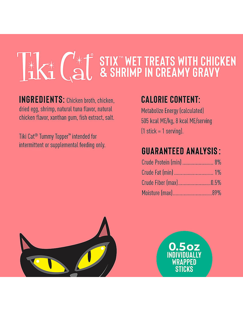Tiki Cat Treats Chicken & Shrimp Mousse 3 oz