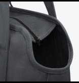 Waggo Waggo Canvas Dog Bag Carrier Tote  Charcoal