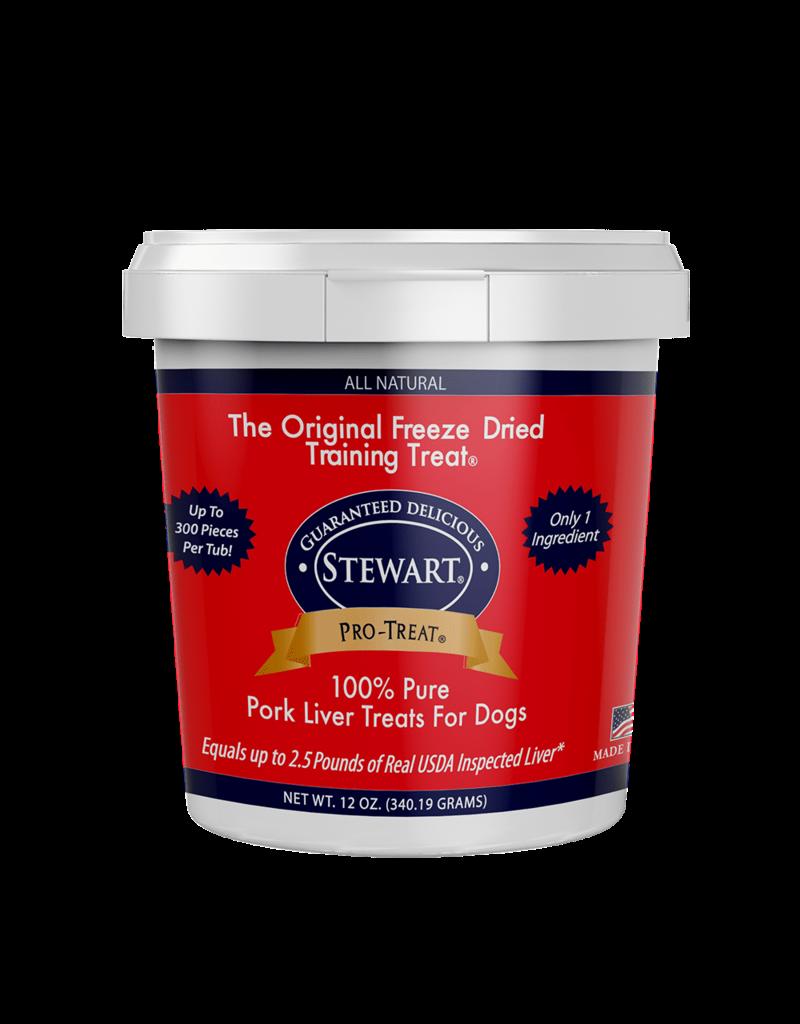 GIMBORN / MIRACLECORP PRODUCTS Stewart Freeze Dried Pork Liver 4 oz