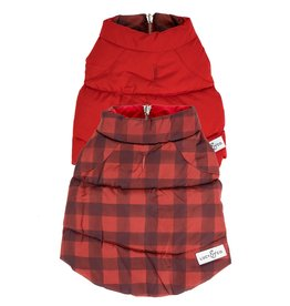 Lucy & Co. Lucy & Co. Reversible Puffer Vest Buffalo Plaid 2XL/XXLarge