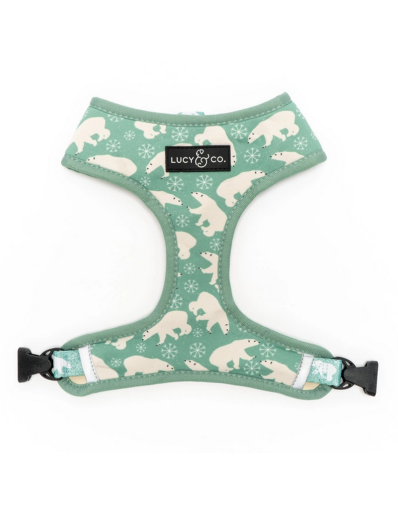 Lucy & Co. Lucy & Co. Reversible Harness Polar Bear Parade Medium