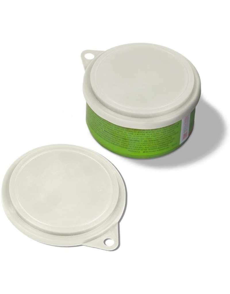Van Ness Plastic Pet Food Can Cover White