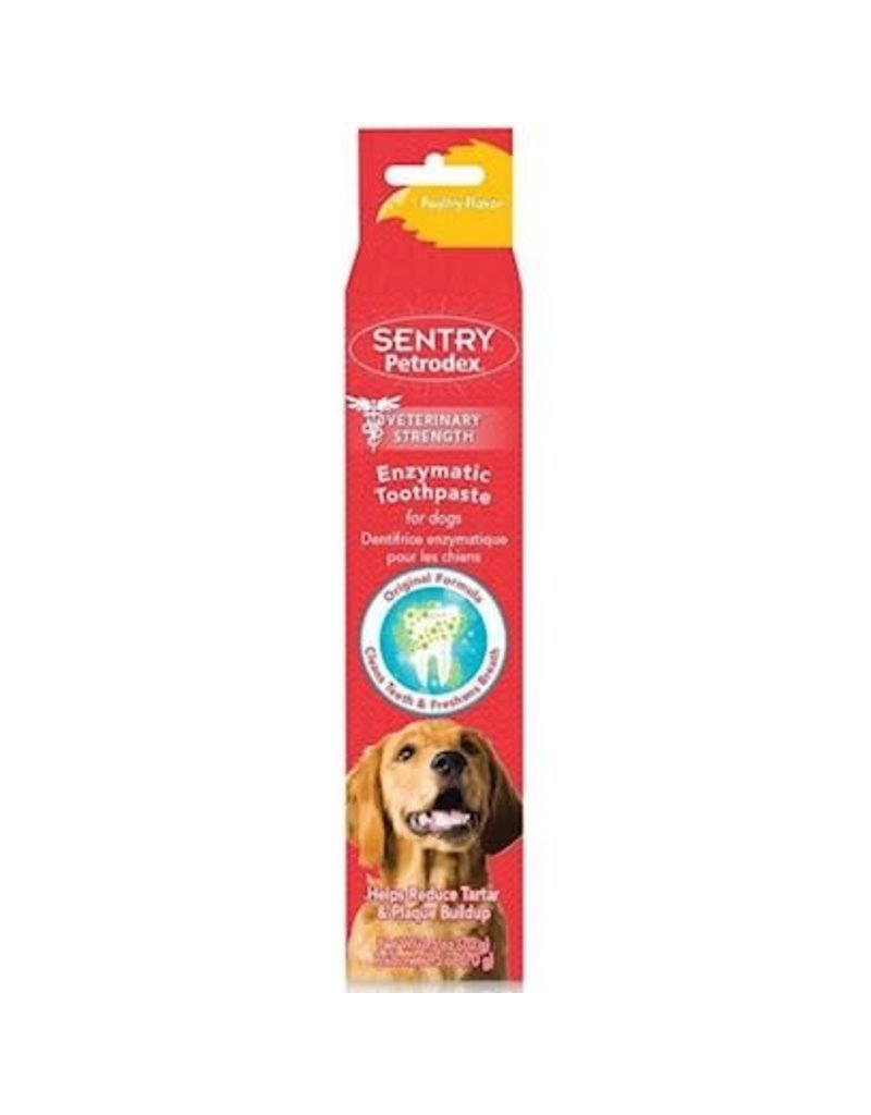 Petrodex Enzymatic Toothpaste for Dogs Poultry 2.5 oz