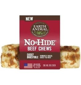 "Earth Animal No Hide Beef Chews 4"" EACH"