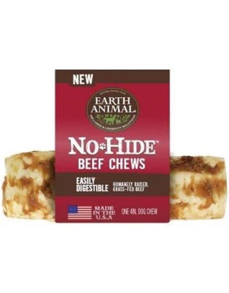"Earth Animal Dog No Hide Beef Chews 4"" EACH"
