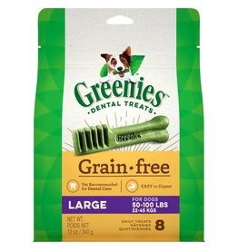 Greenies Dog, Grain Free, Large 12 oz
