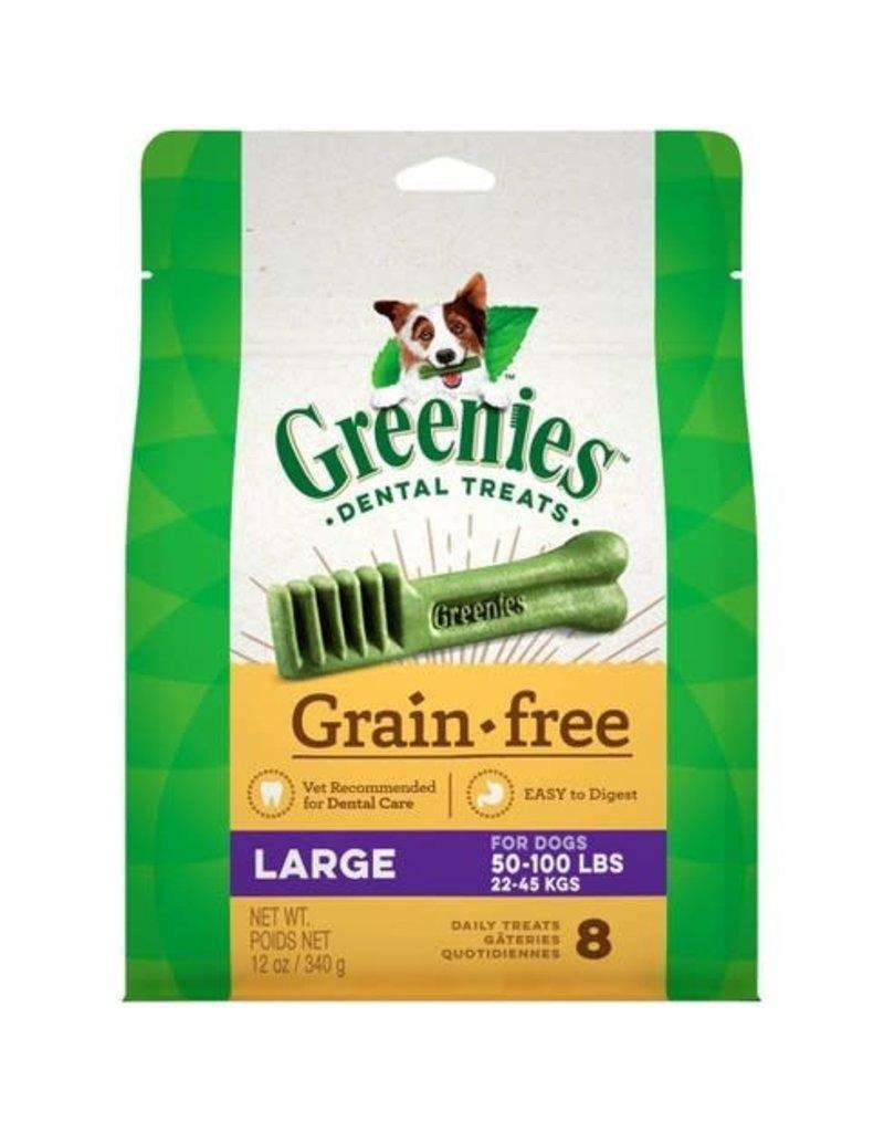 Greenies Dog, Grain Free, Large 12 oz
