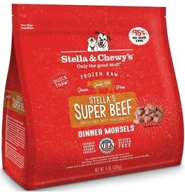 Stella and Chewy's  Dog Frozen Stella's Super Beef Dinner Morsels 4lb