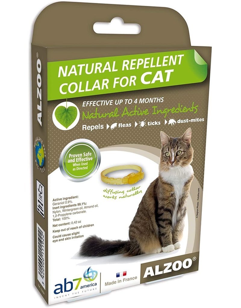 Alzoo Natural Repellant Collar For Cats