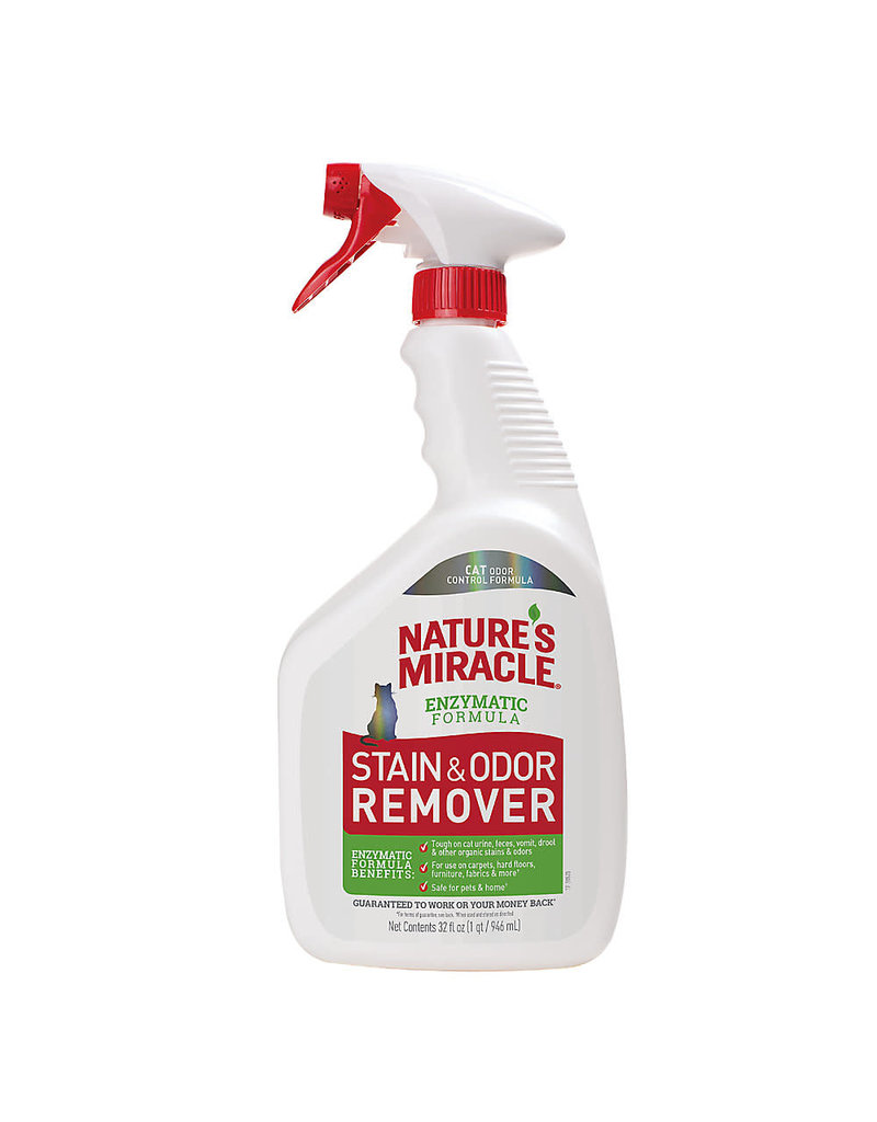 Nature's Miracle Just For Cats Stain & Odor Remover 32oz