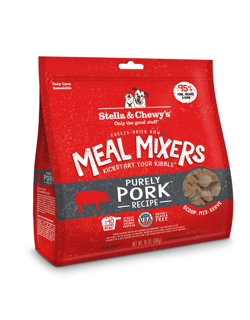 Stella & Chewy's Freeze-Dried Meal Mixers Pork 3.5 Oz