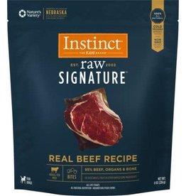 Nature's Variety Instinct Signature Frozen Raw Dog Beef Bites 4 lb