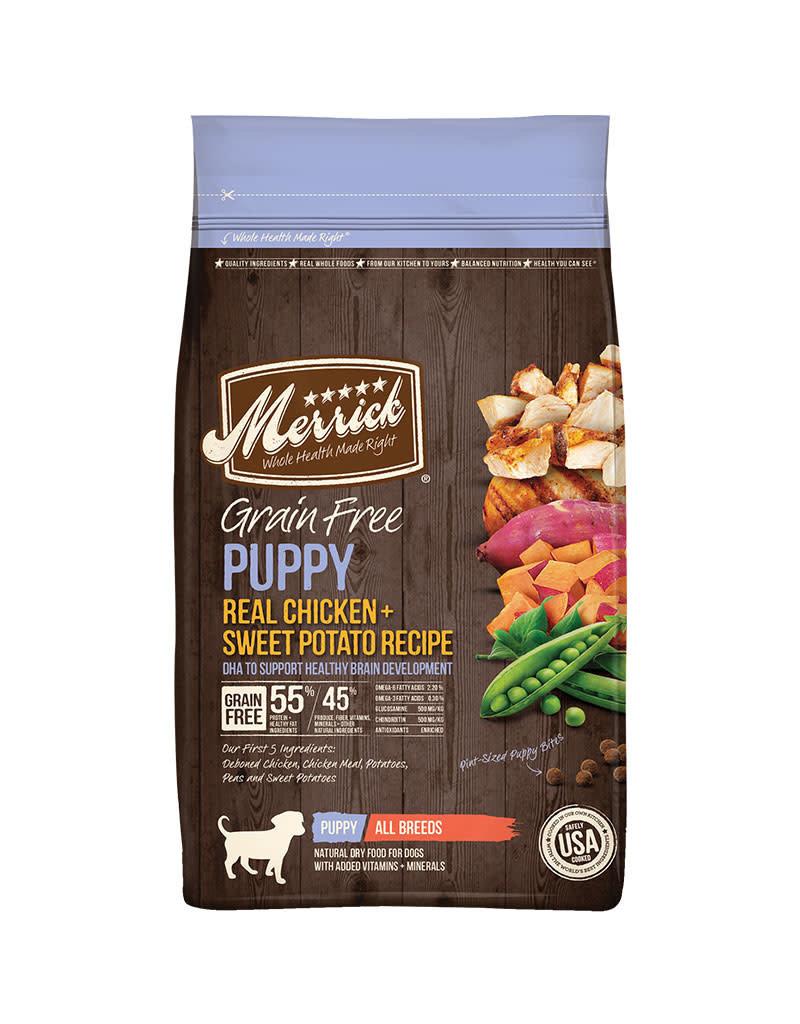 Merrick Grain Free Dry Dog Puppy 10 Lb