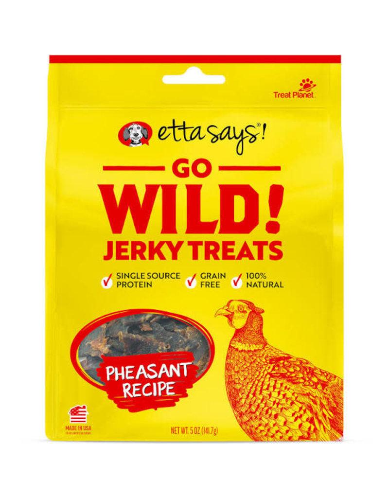 Etta Says Etta Says Dog Go Wild Jerky Pheasant 5oz