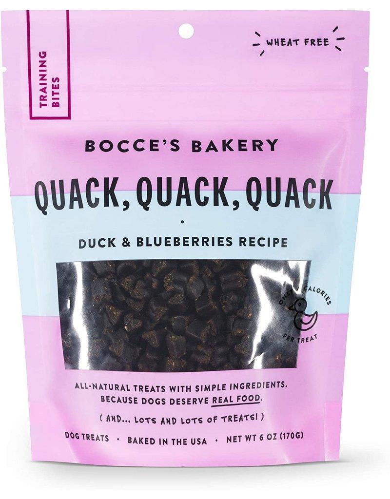 Bocce's Bakery Bocce's Bakery Training Treat Quack Quack 6 oz