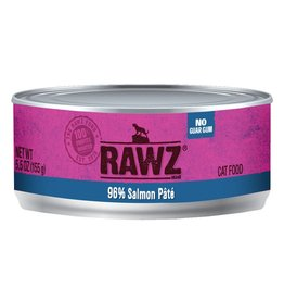 RAWZ Cat 96% Salmon Pate 5.5oz
