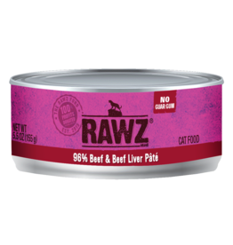 RAWZ Cat 96% Beef Liver 5.5oz