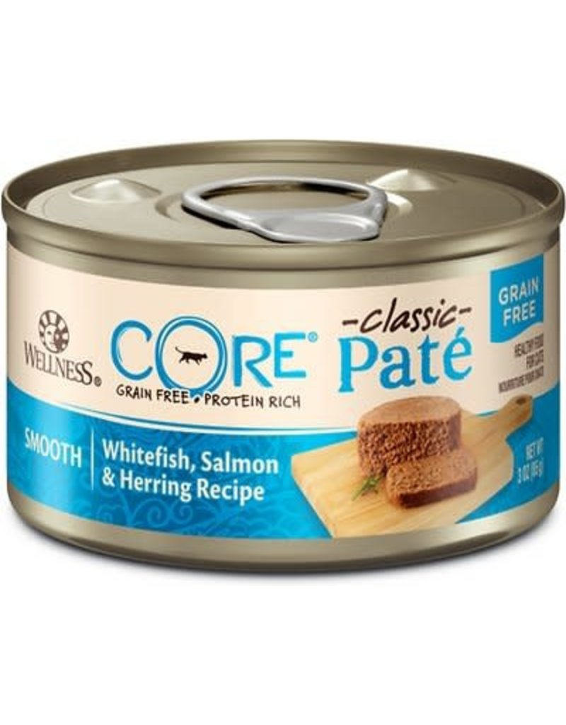 Wellness Canned Cat Core Salmon Whitefish & Herring 5.5 oz