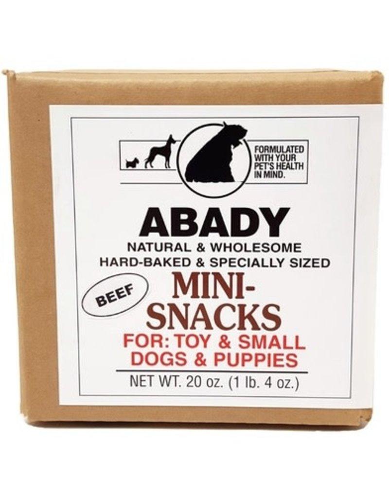 Abady Dog Treat Beef Mini Snacks 9 oz