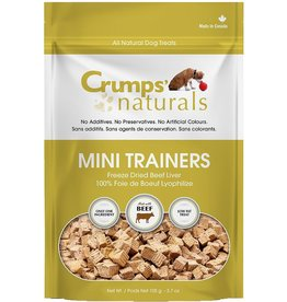 Crumps' Naturals Crumps' Mini Trainers Freeze Dried Beef Liver Treats