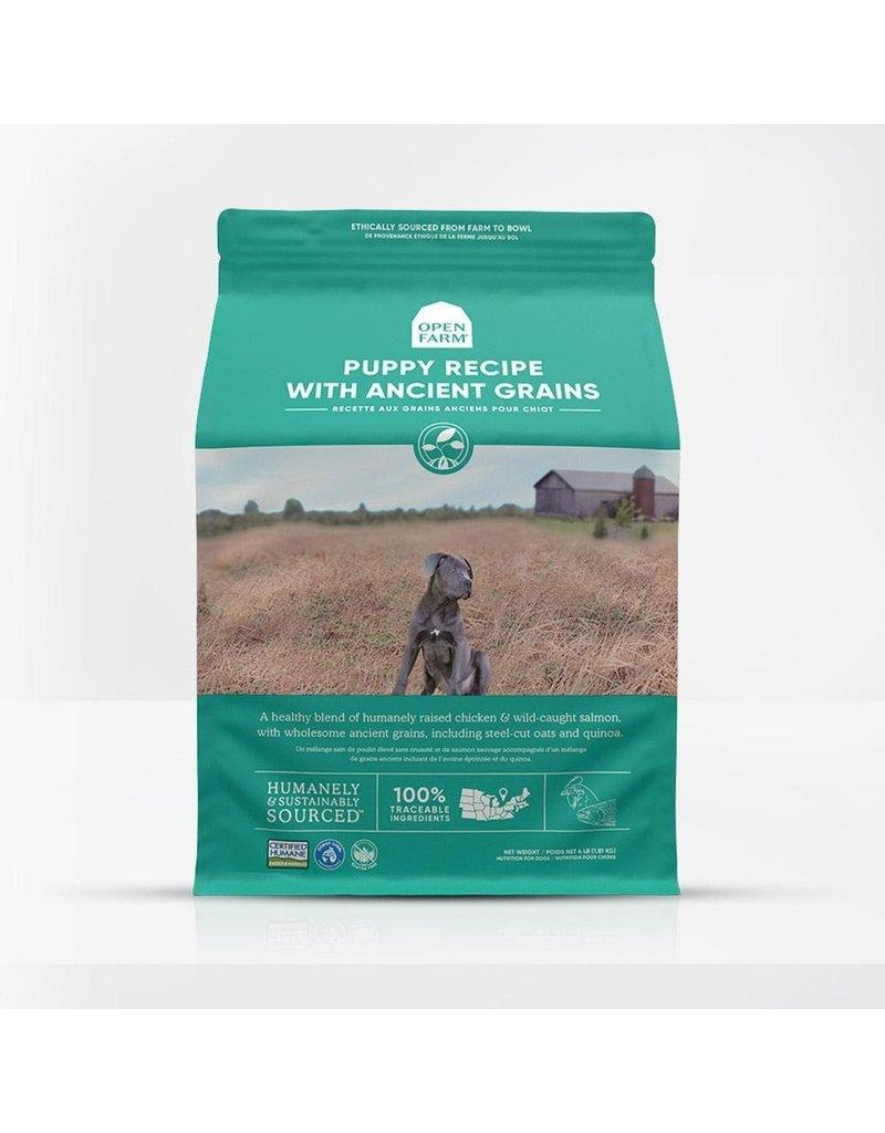 Open Farm Dry Dog Ancient Grains Harvest Puppy 4 Lb