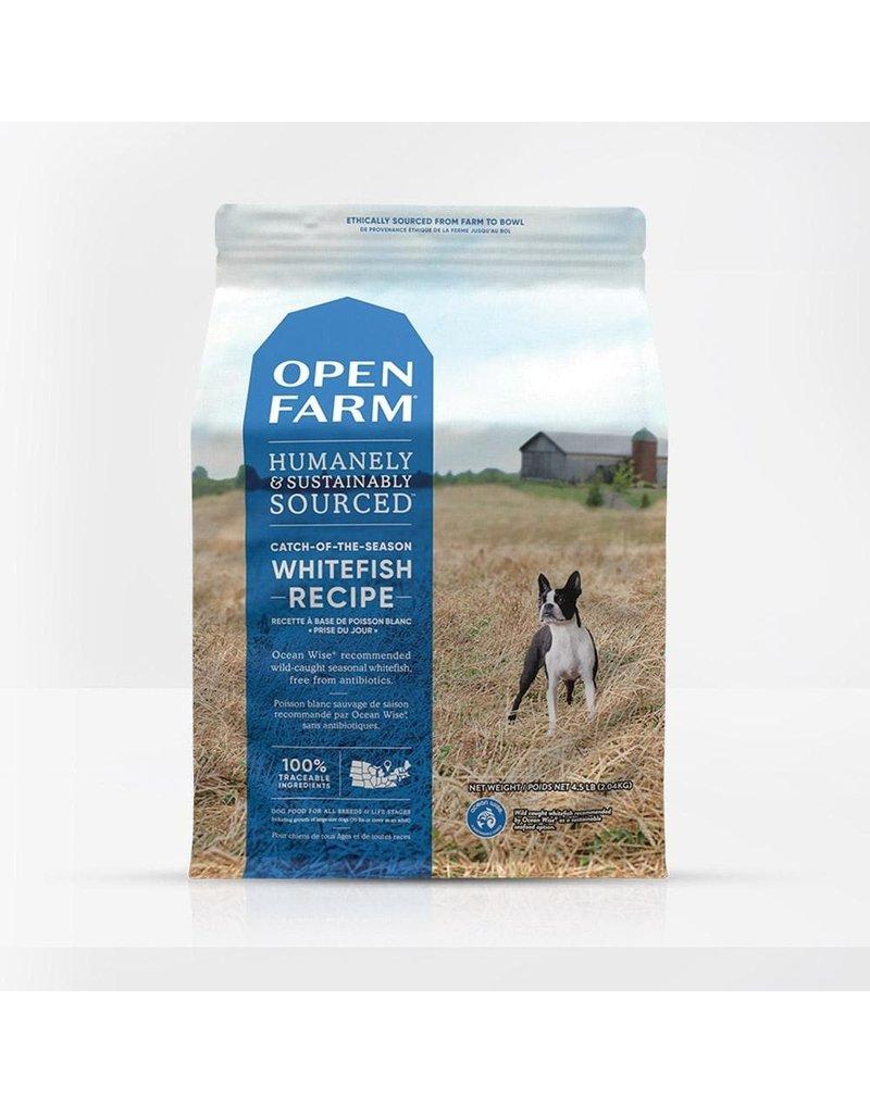 Open Farm Dry Dog Grain Free Whitefish 4.5 Lb