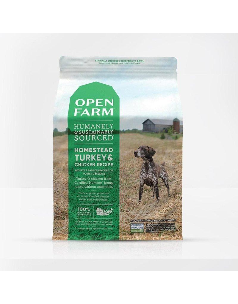 Open Farm Dry Dog Grain Free Turkey & Chicken 4.5 Lb