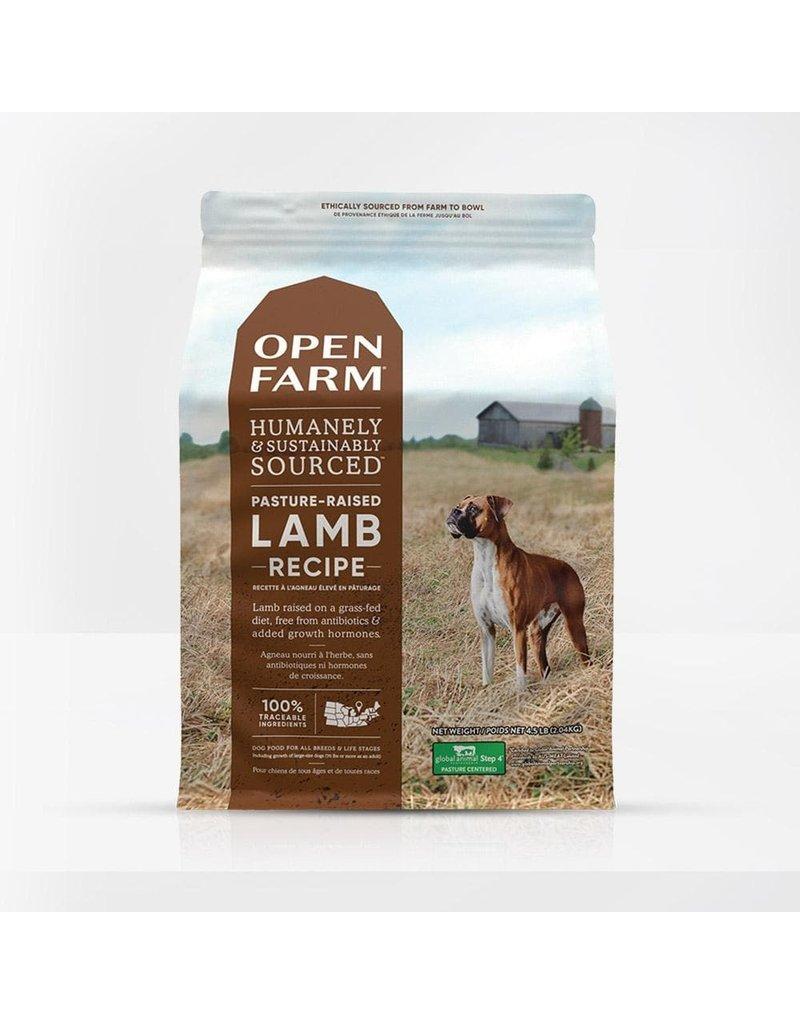 Open Farm Dry Dog Grain Free Lamb 4.5 Lb