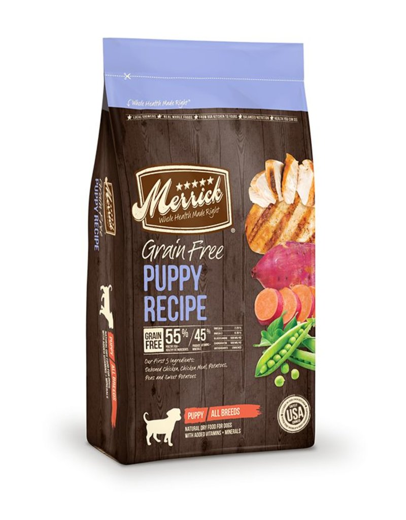 Merrick Dry Dog Grain Free Puppy 4 lb