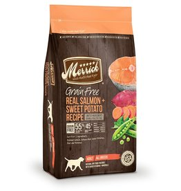 Merrick Dry Dog Grain Free Salmon & Sweet Potato 4 LB